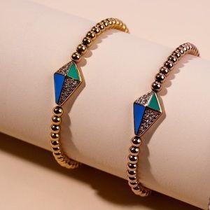 NOGU x Cystic Fibrosis Crystal Kite Charm Bracelet